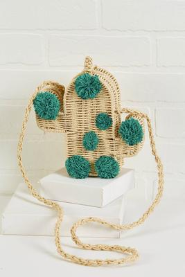 what a cute cactus bag
