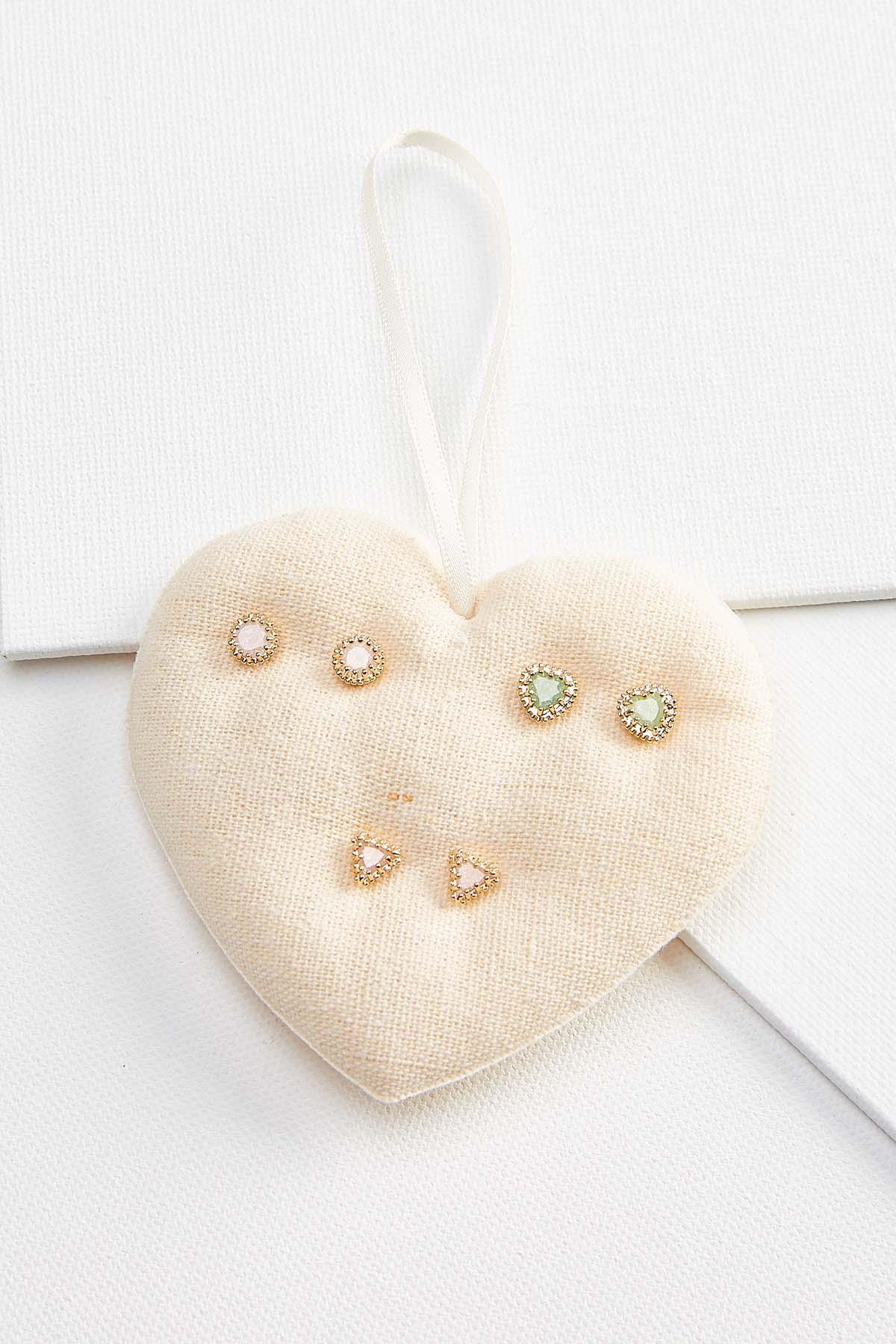 Glittery Stud Earrings