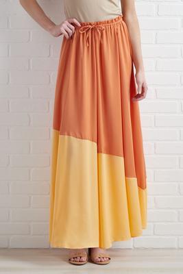 aperol spritz skirt