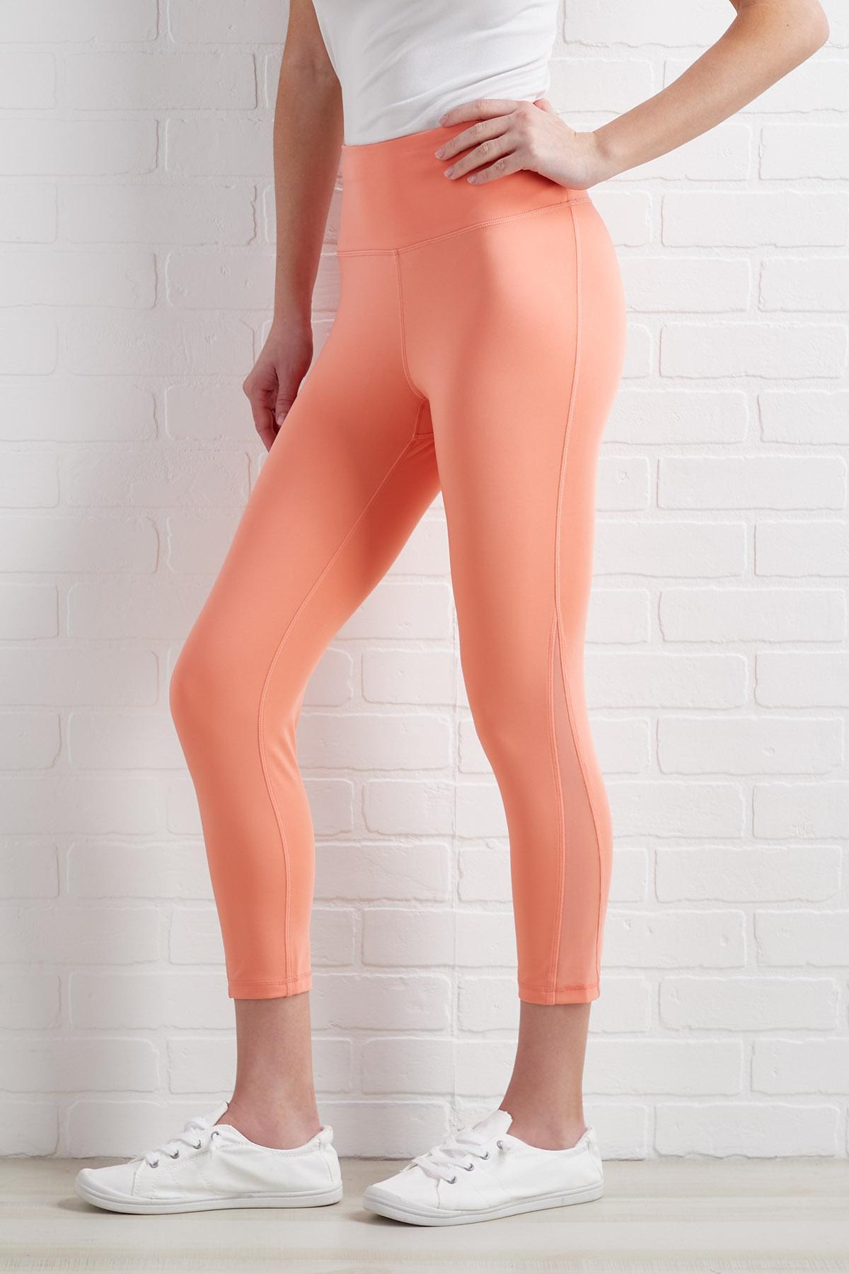 Meshing Together Leggings
