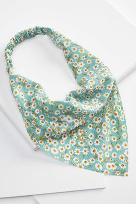 floral hair scarf