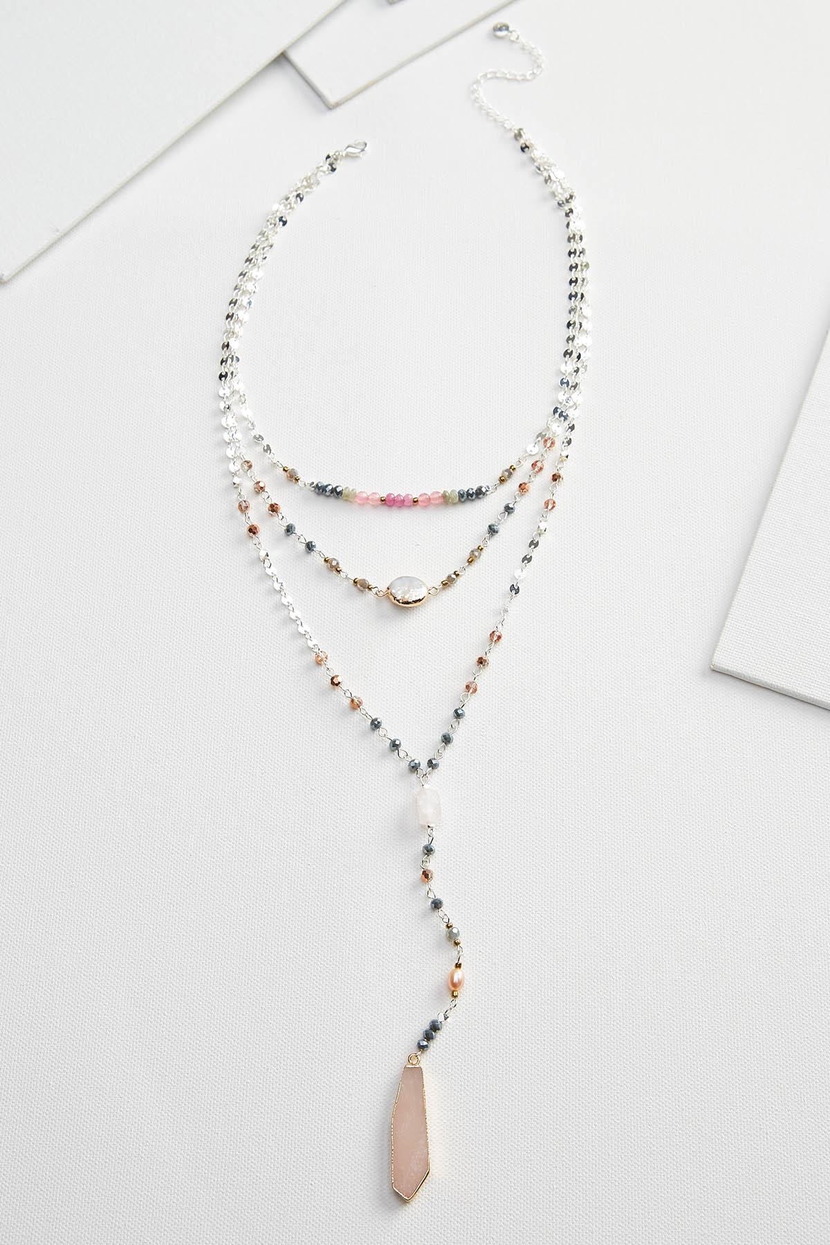 Sparkling Stone Necklace