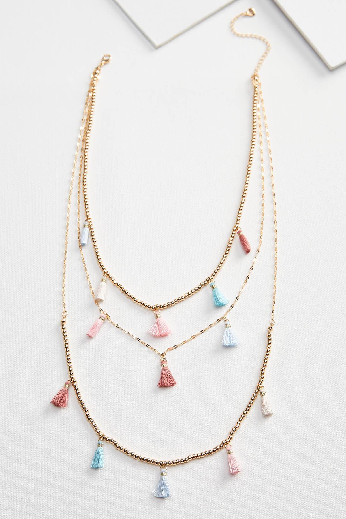 Tiny Tassel Necklace