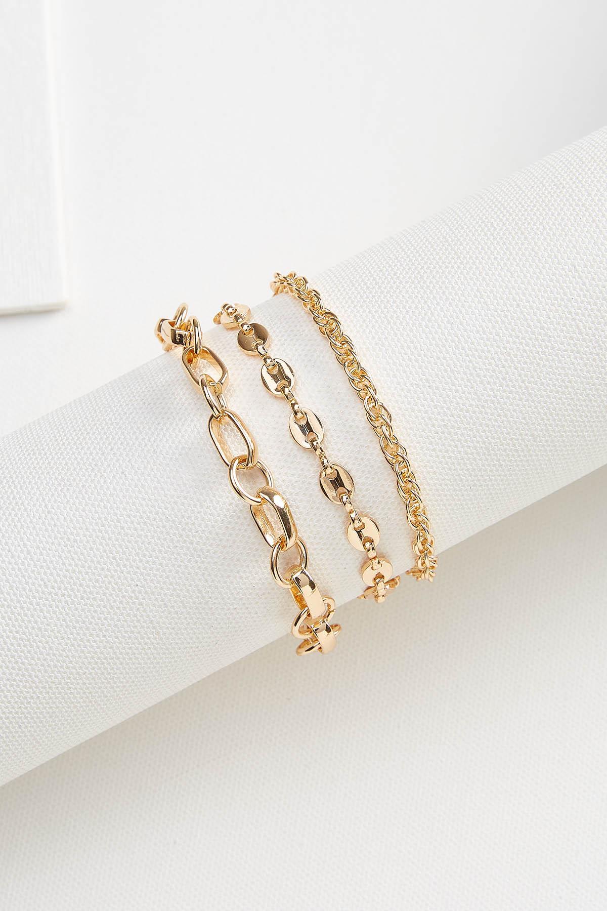Chain Bracelet Set