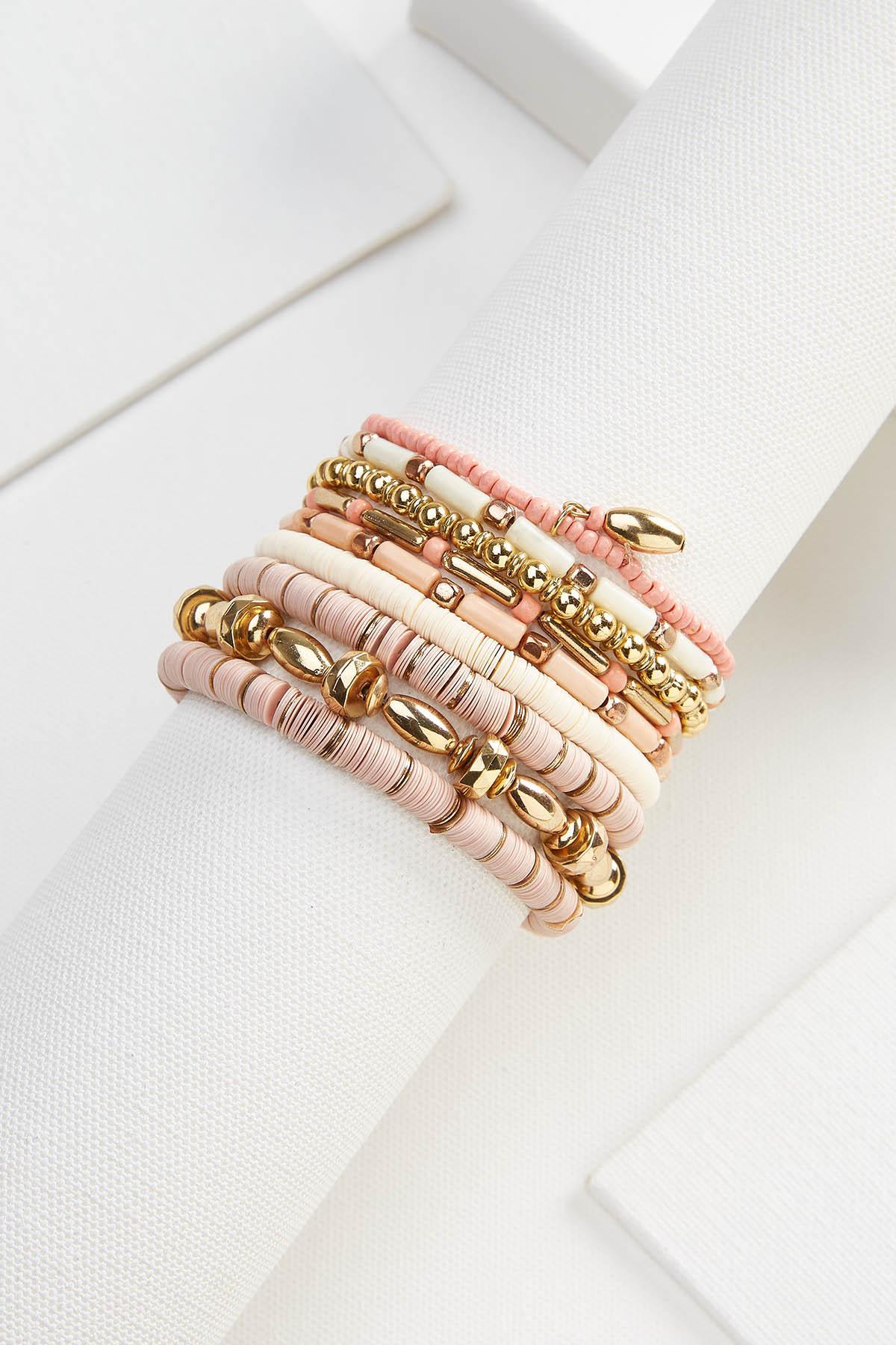 Rose Gold Bracelet Set