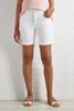 Not So Basic White Denim Shorts