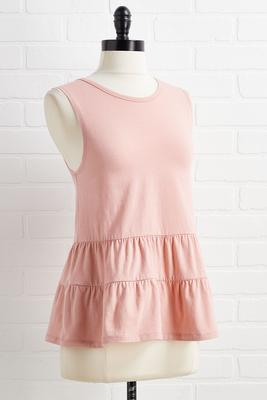 rock-a-bye babydoll top