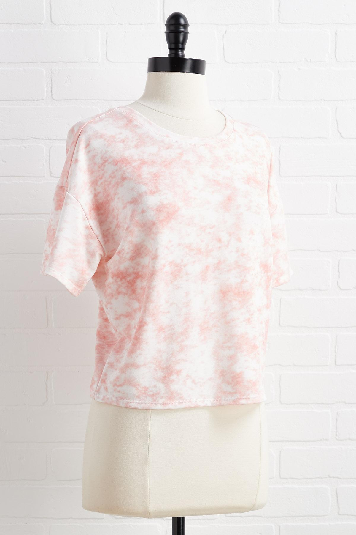 Coral In This Together Top