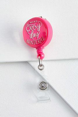 wonderful badge reel