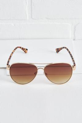 leopard aviator sunglasses