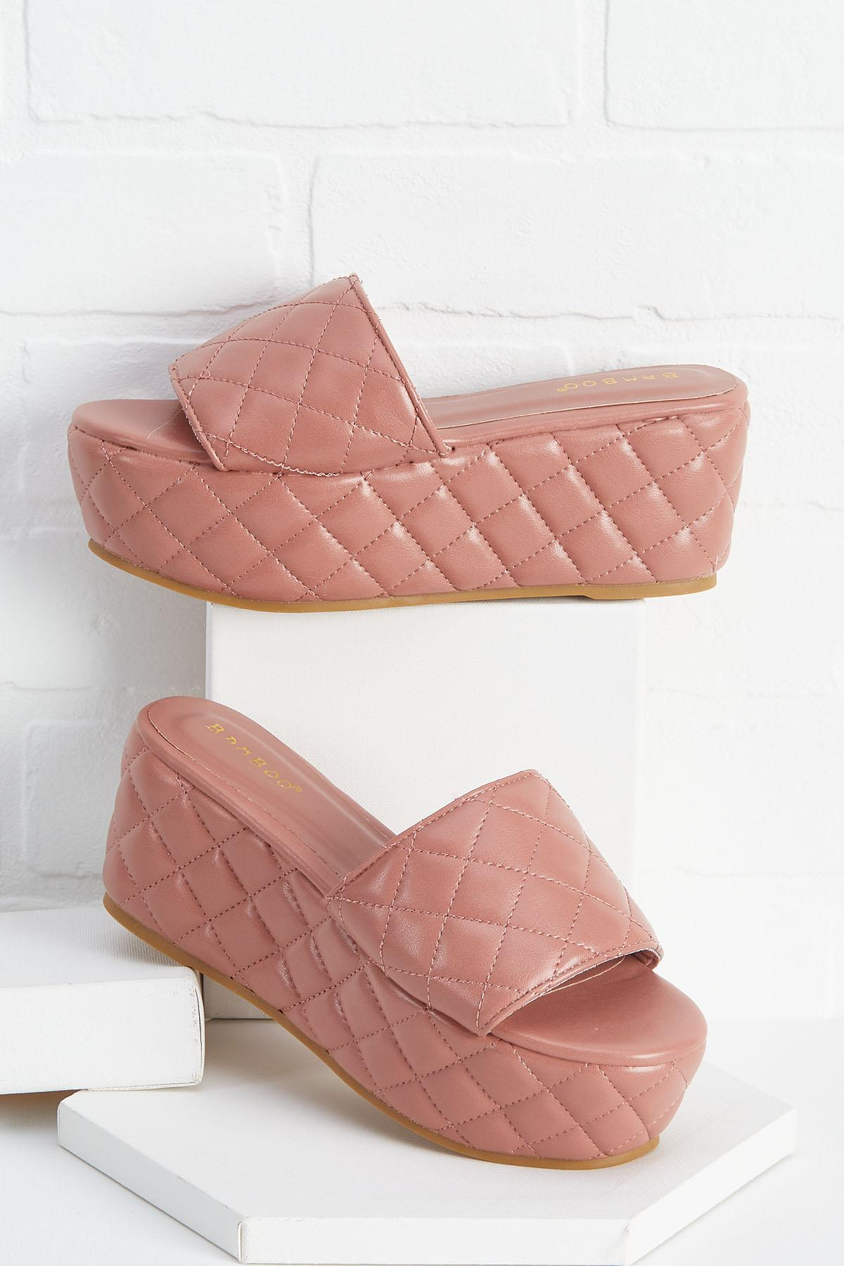 Don ` T Quilt Your Daydream Sandals