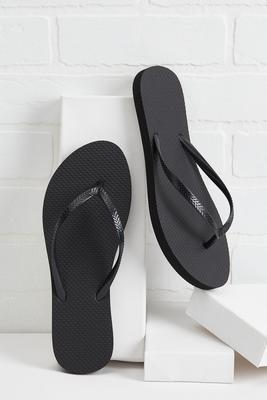 solid summer flip-flops