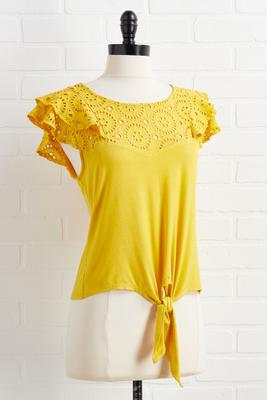 sunshine and good vibes top