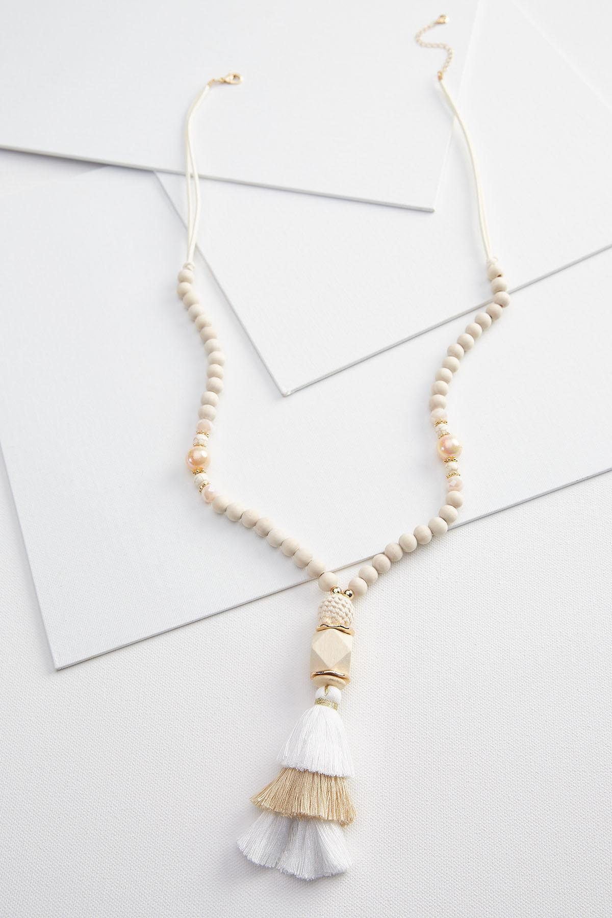 Natural And Neutral Necklace
