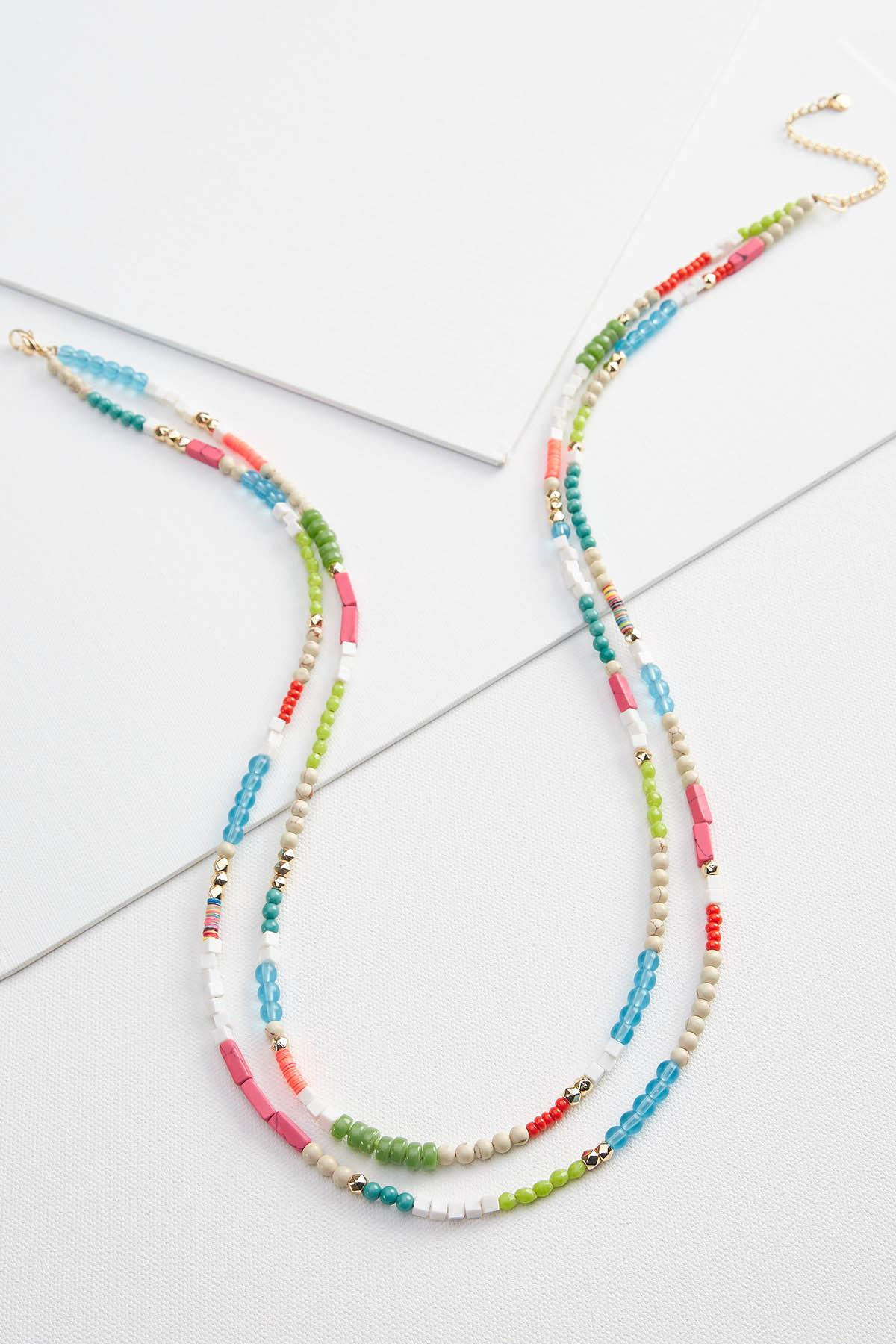 Beaded Party Necklace
