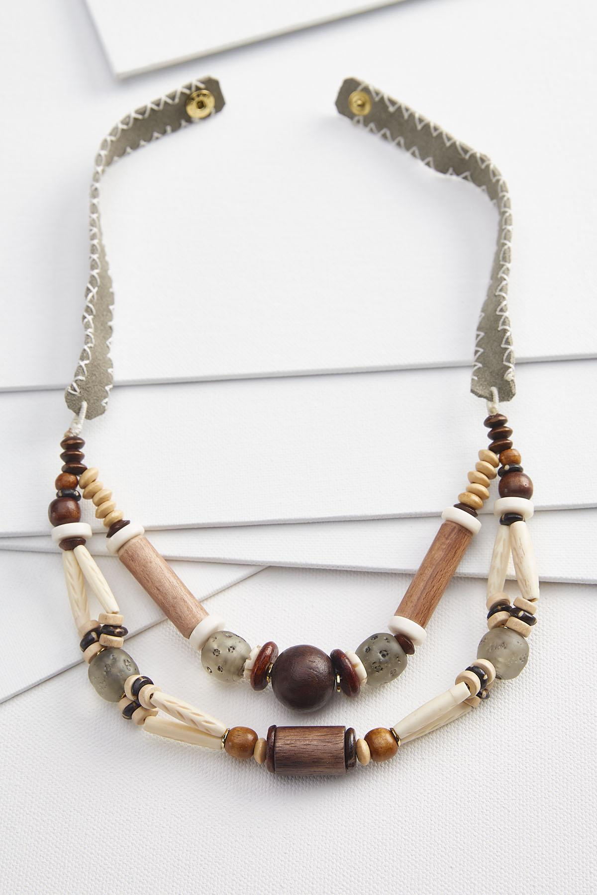 Wooden You Like That Necklace