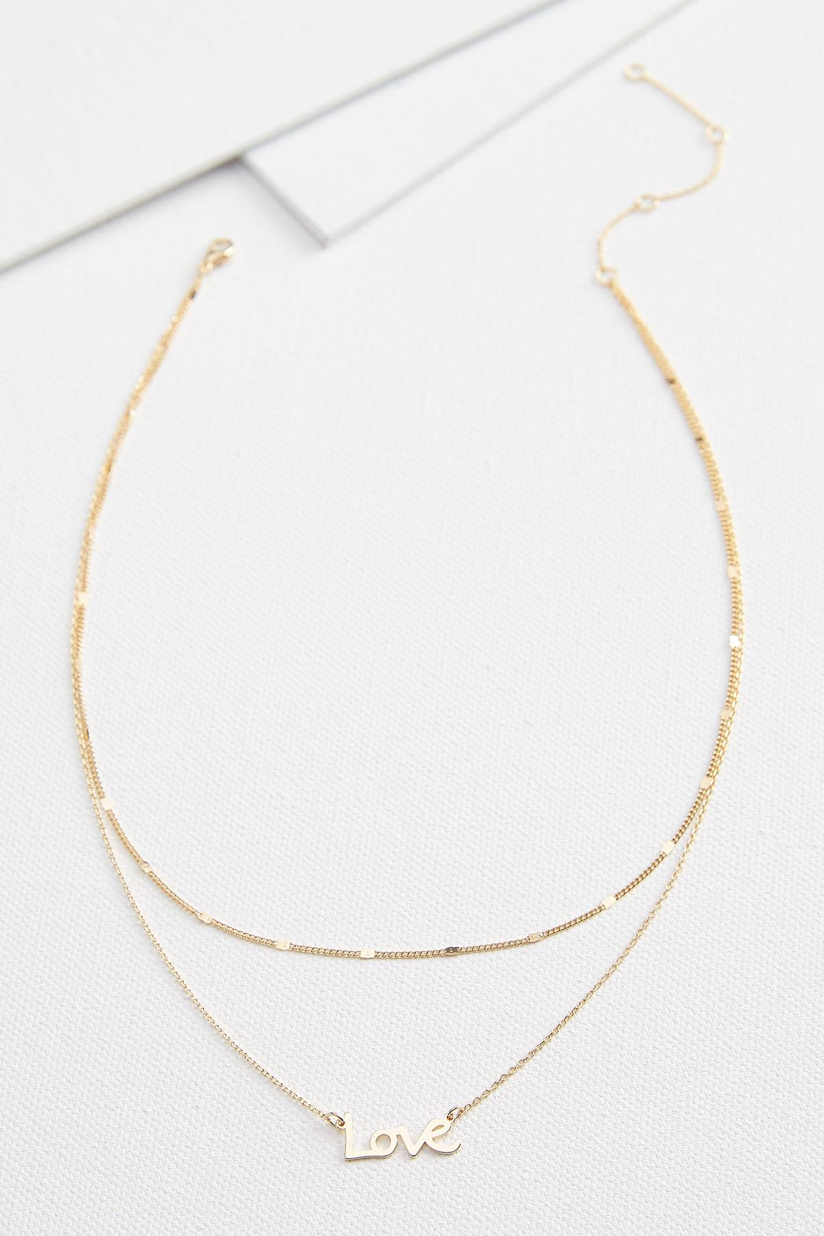 Love Layered Necklace