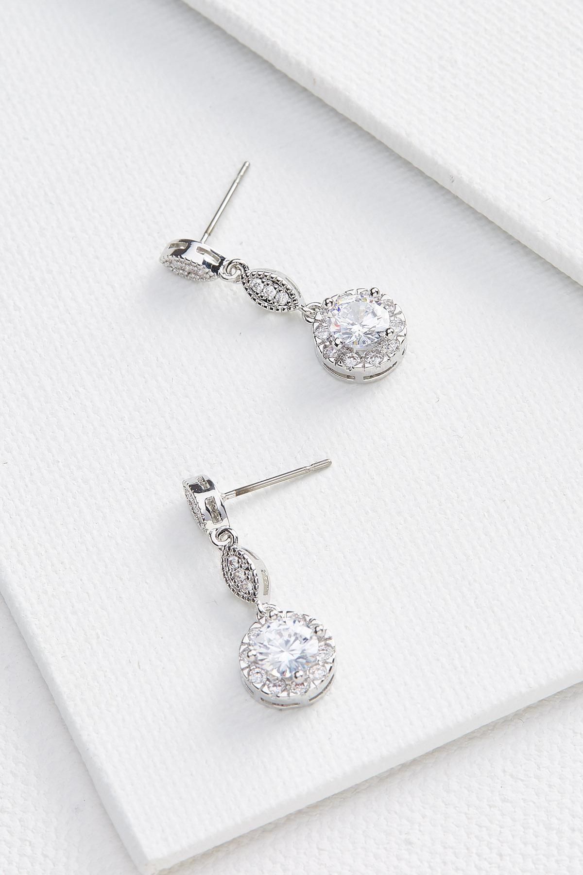 Glitzy Drop Earrings