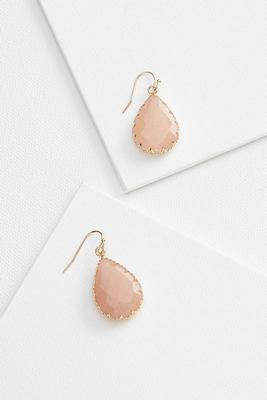 color tear earrings