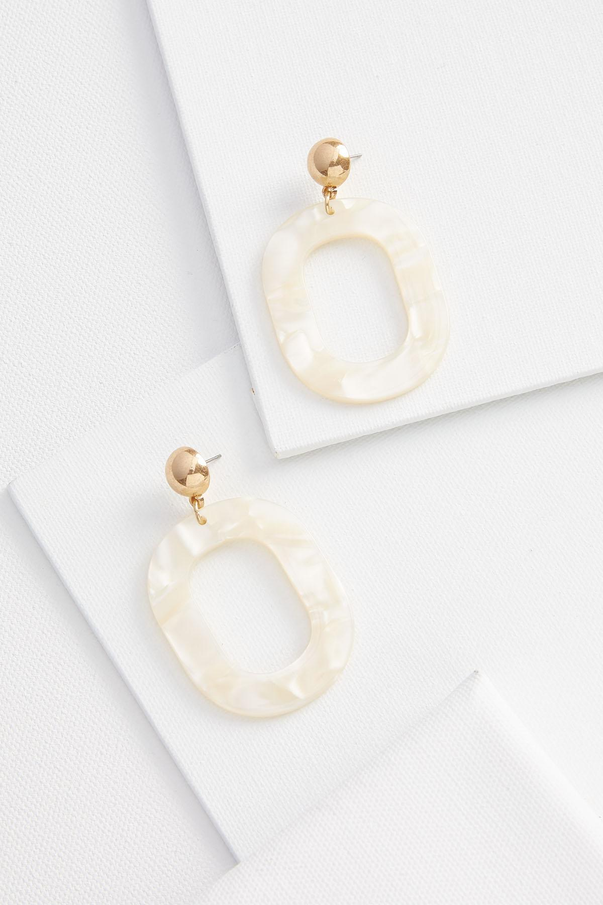 Large Lucite Earrings