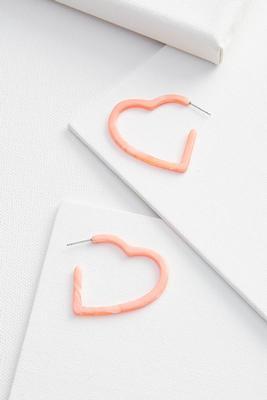 happy heart earrings
