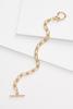 Chain Link Toggle Bracelet