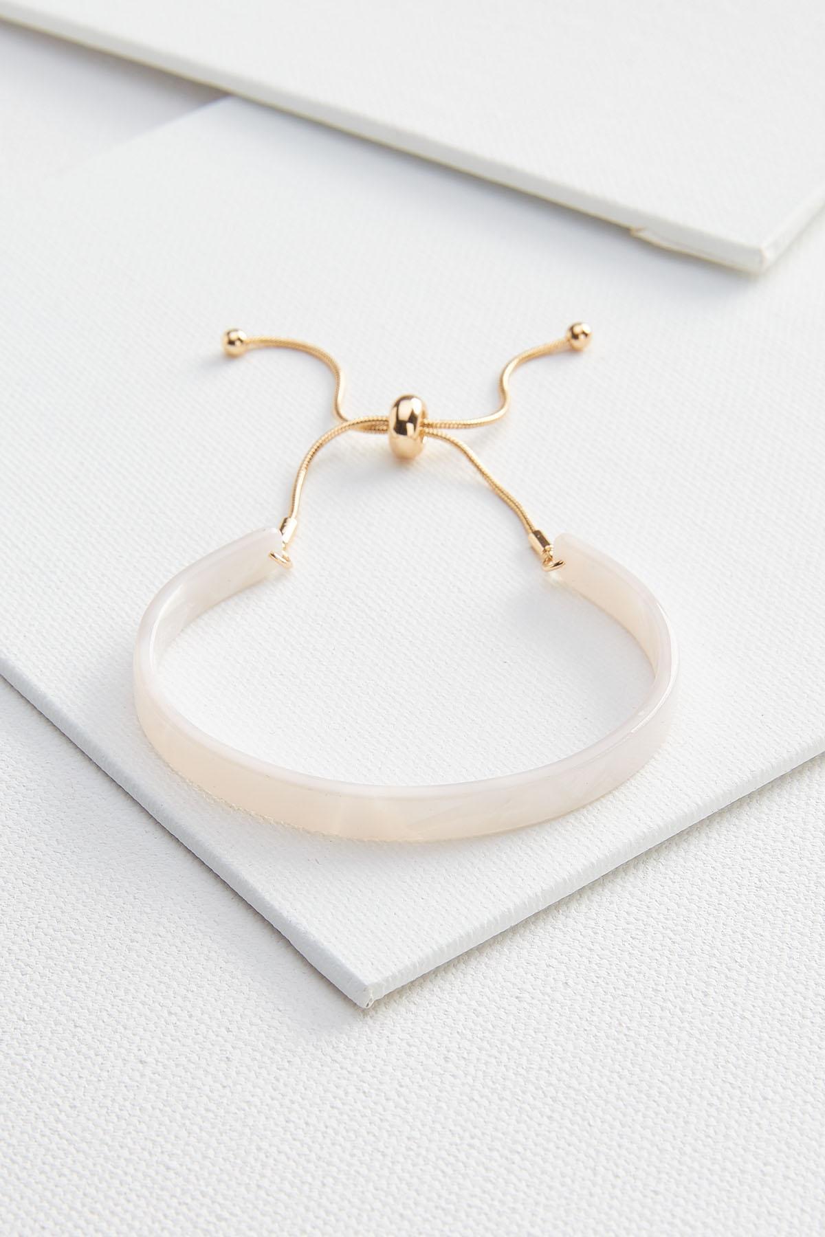 Lucite Cuff Bracelet