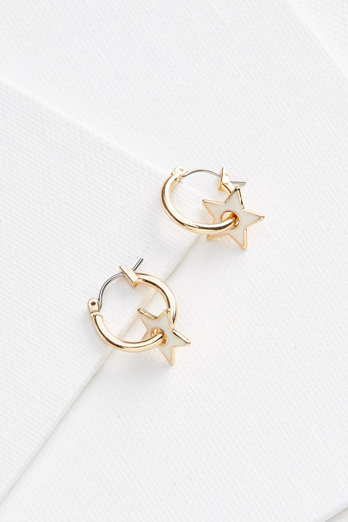 Star Charm Earrings