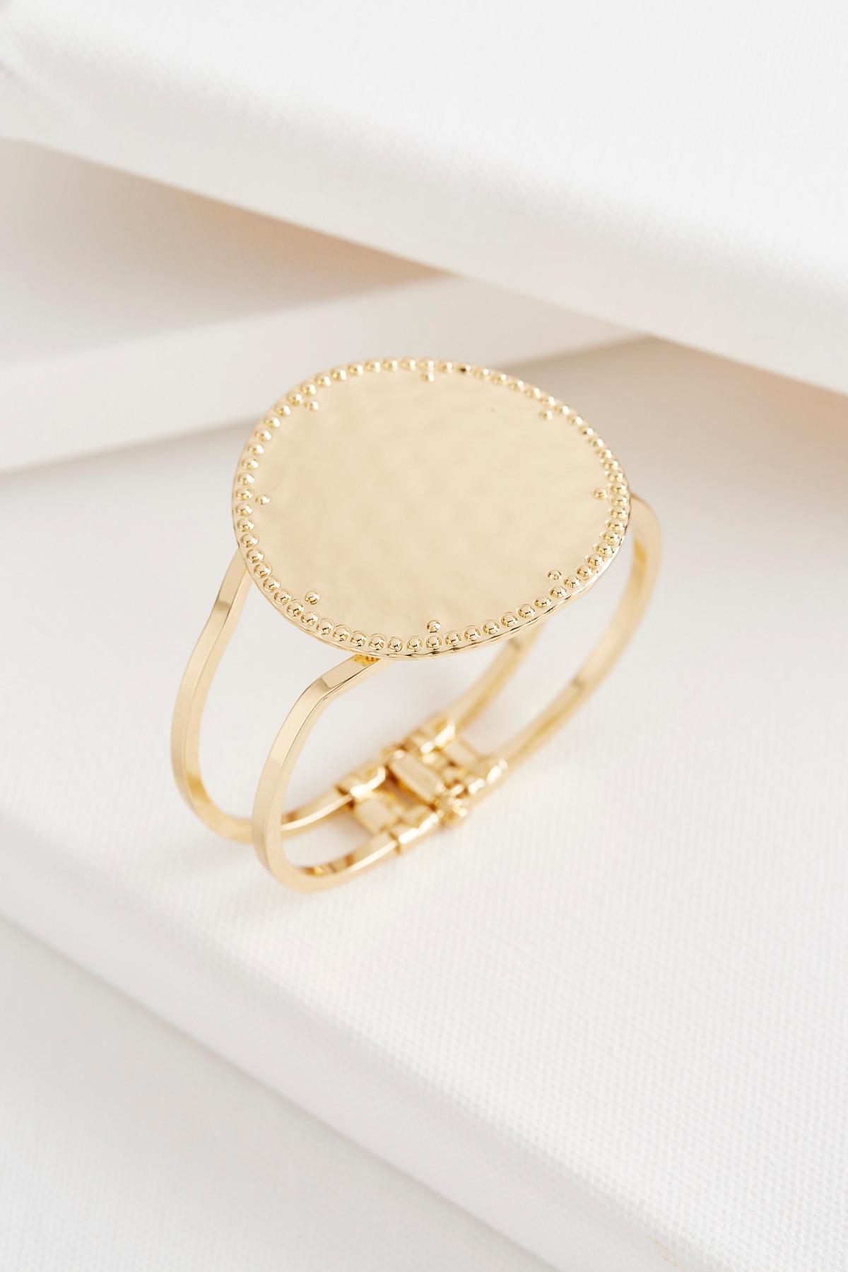 Hammered Hinge Bracelet