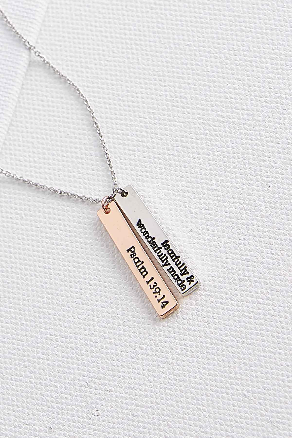 Fearfully Made Pendant Necklace