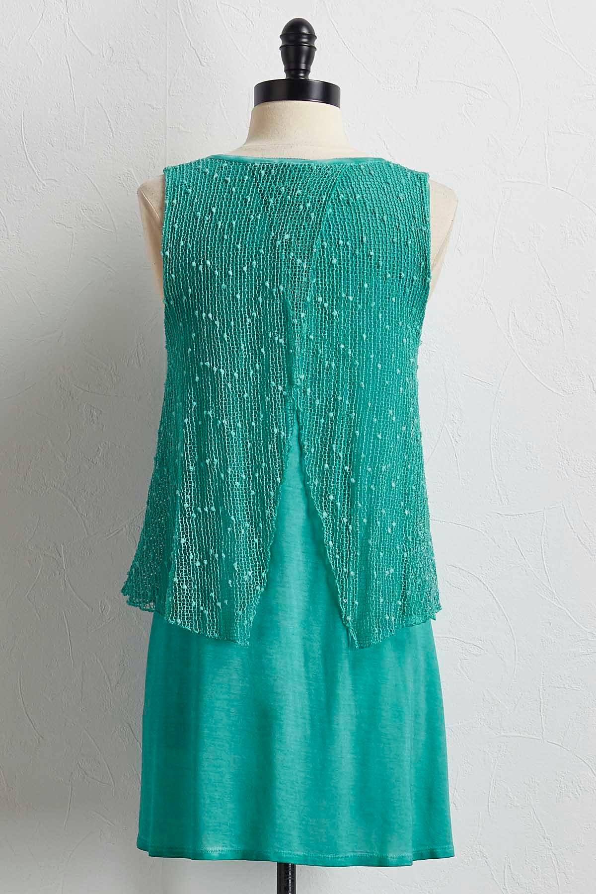 Embellished High- Low Tunic