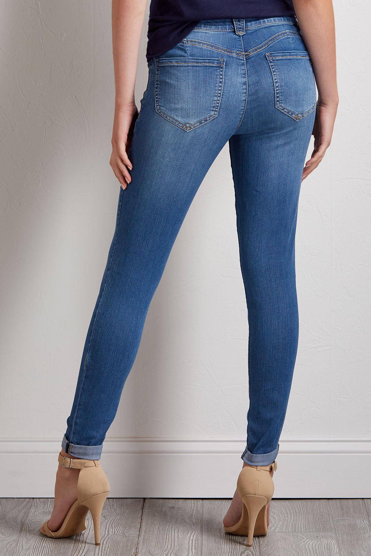 Skinny Skimmer Jeans