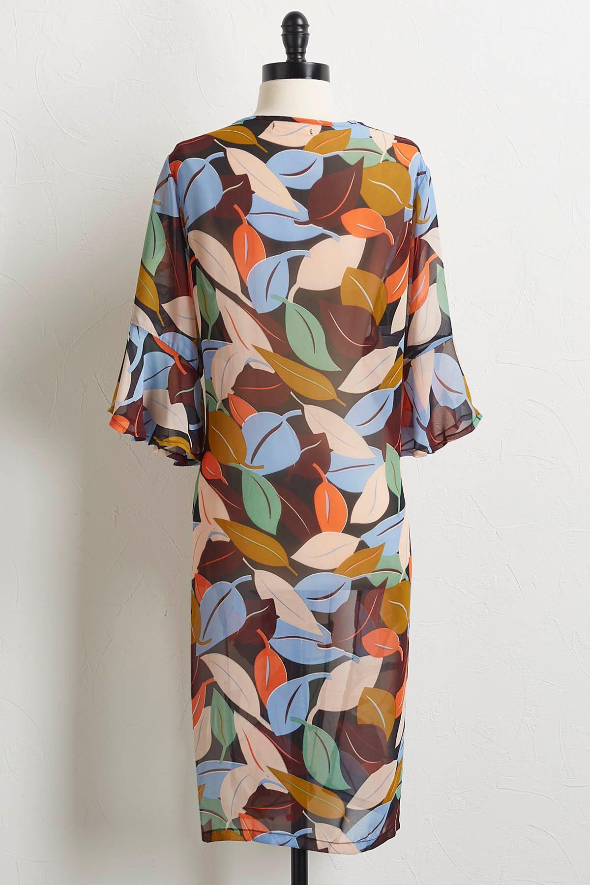 Falling Leaves Kimono