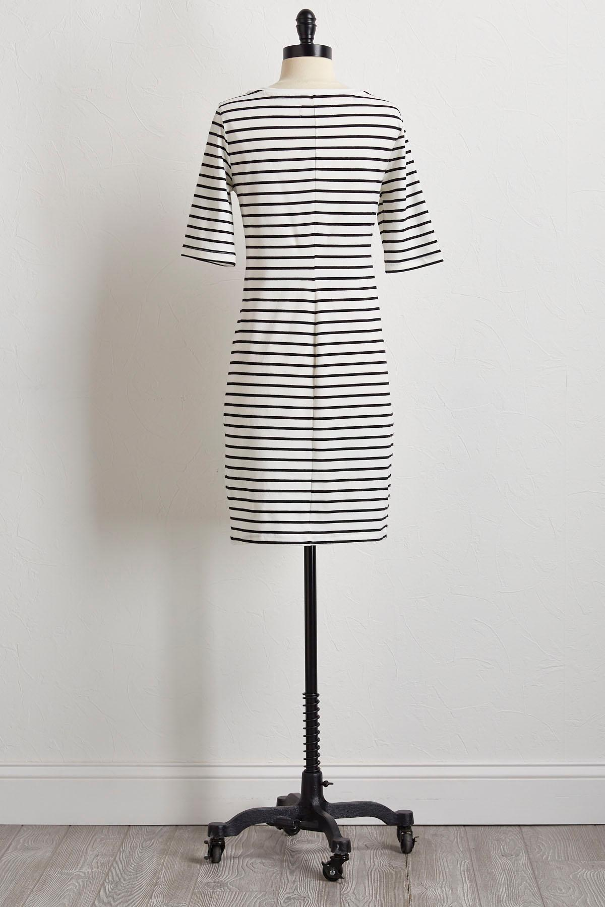 Striped T- Shirt Dress