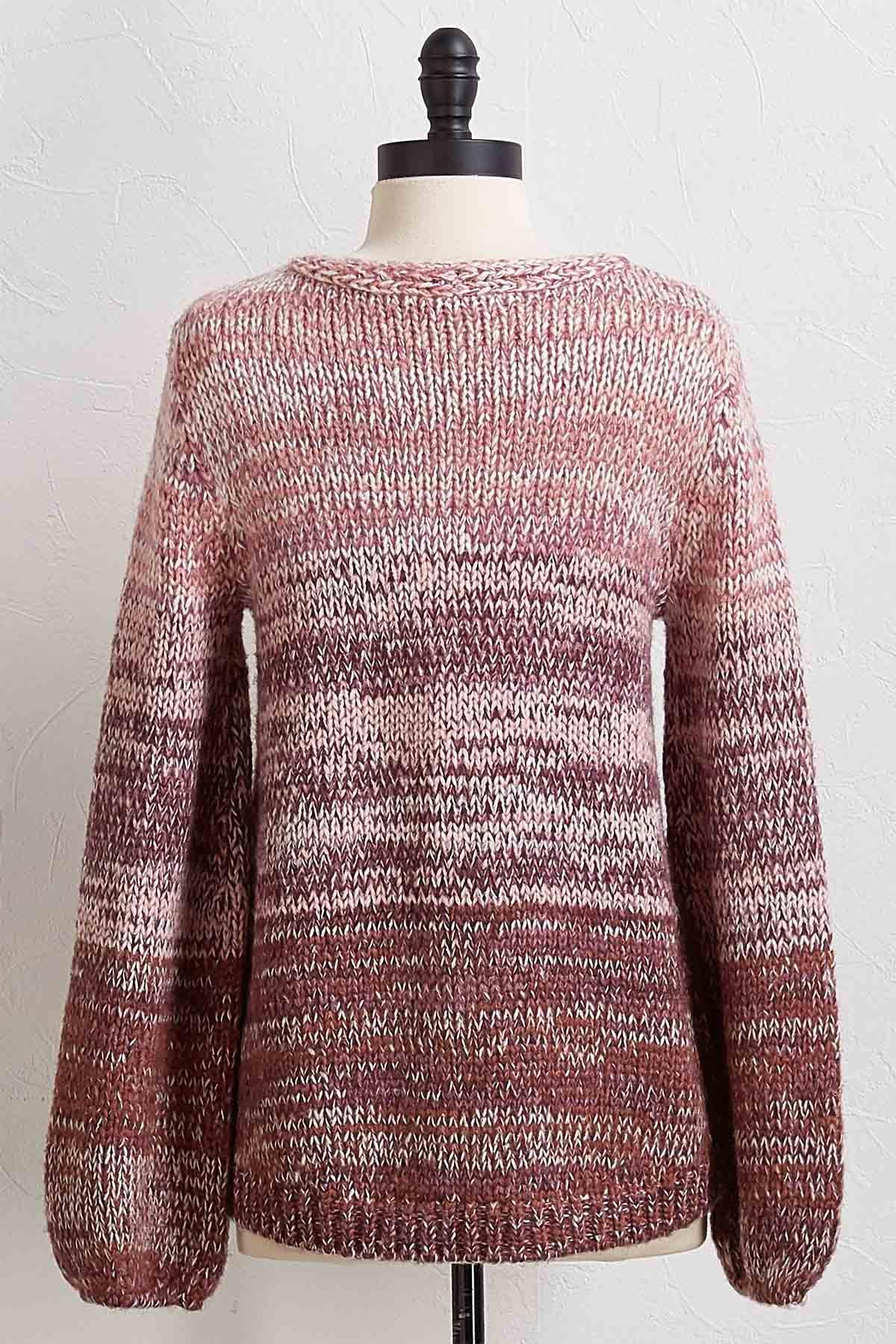 Cozy Ombre Sweater