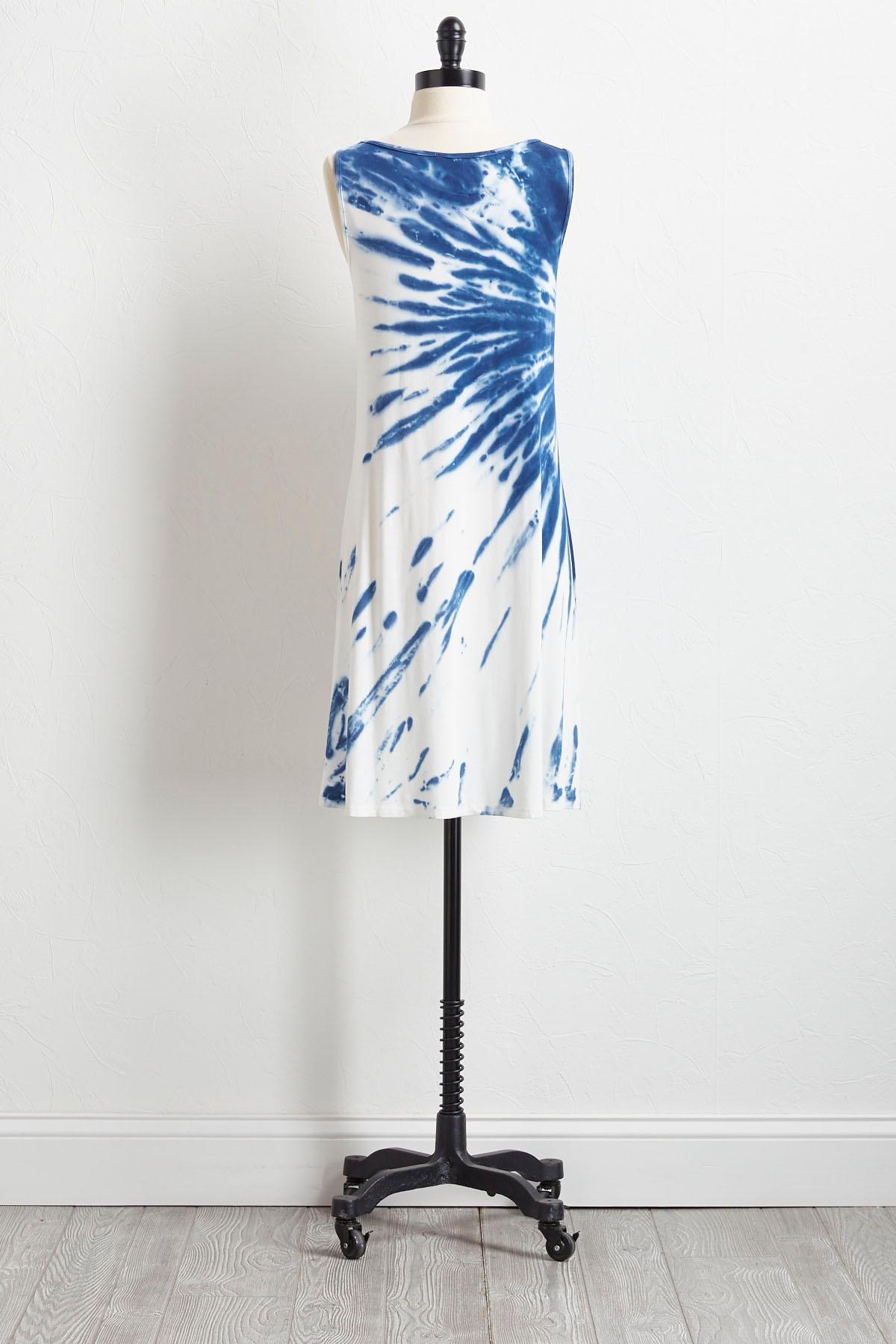 Tie Dye T- Shirt Dress