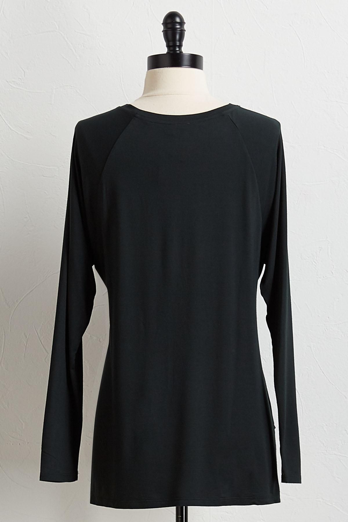 Solid High- Low Tunic