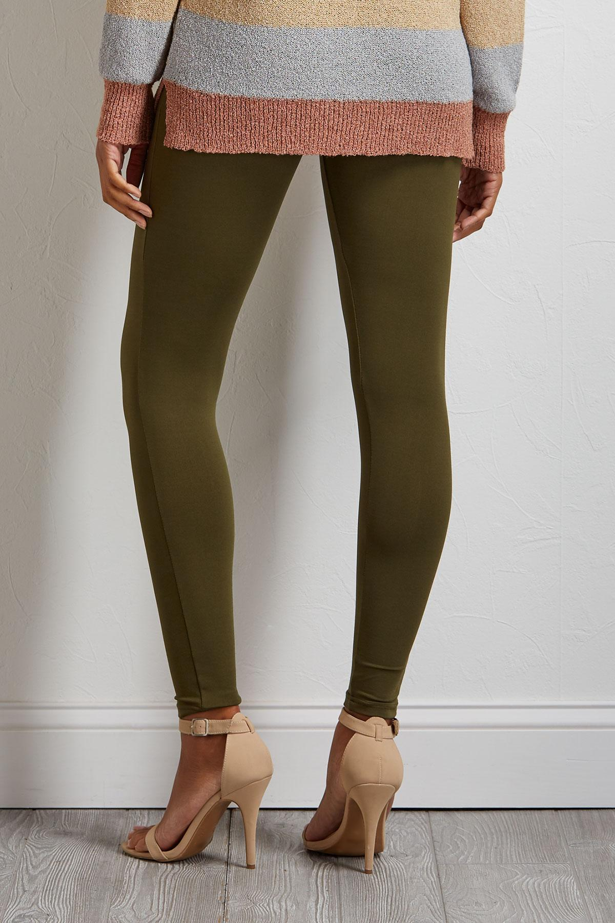 Solid Jersey Leggings