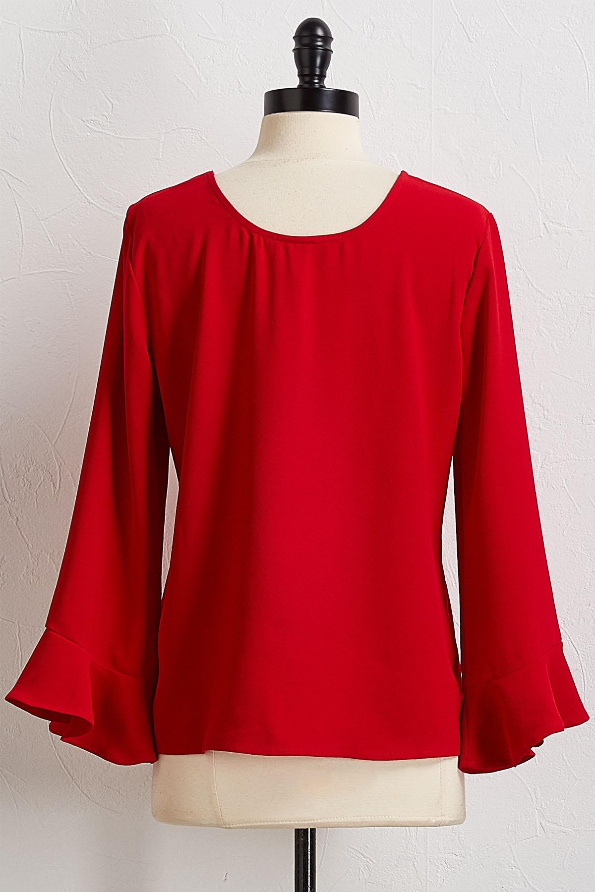 Flutter Bell Sleeve Top