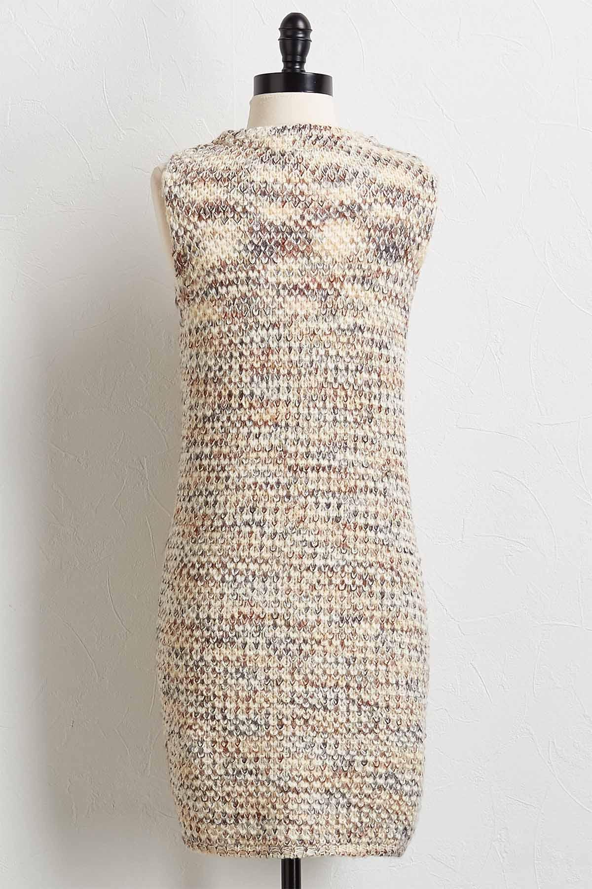 Speckled Sweater Vest