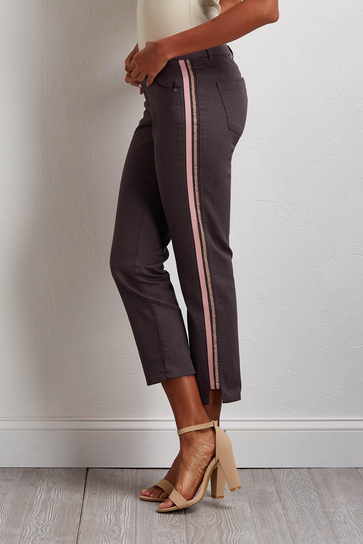 Ribbon Stripe Pants
