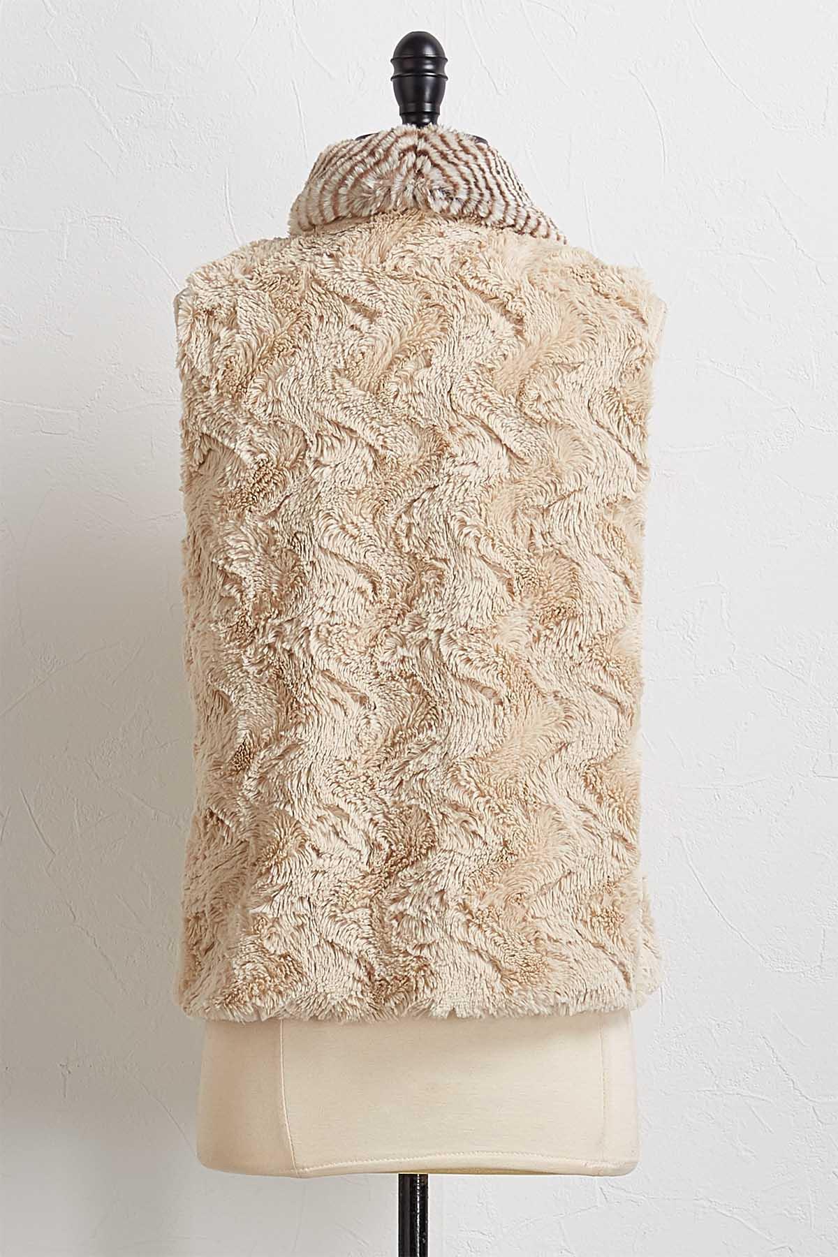 Cozy Faux Fur Vest