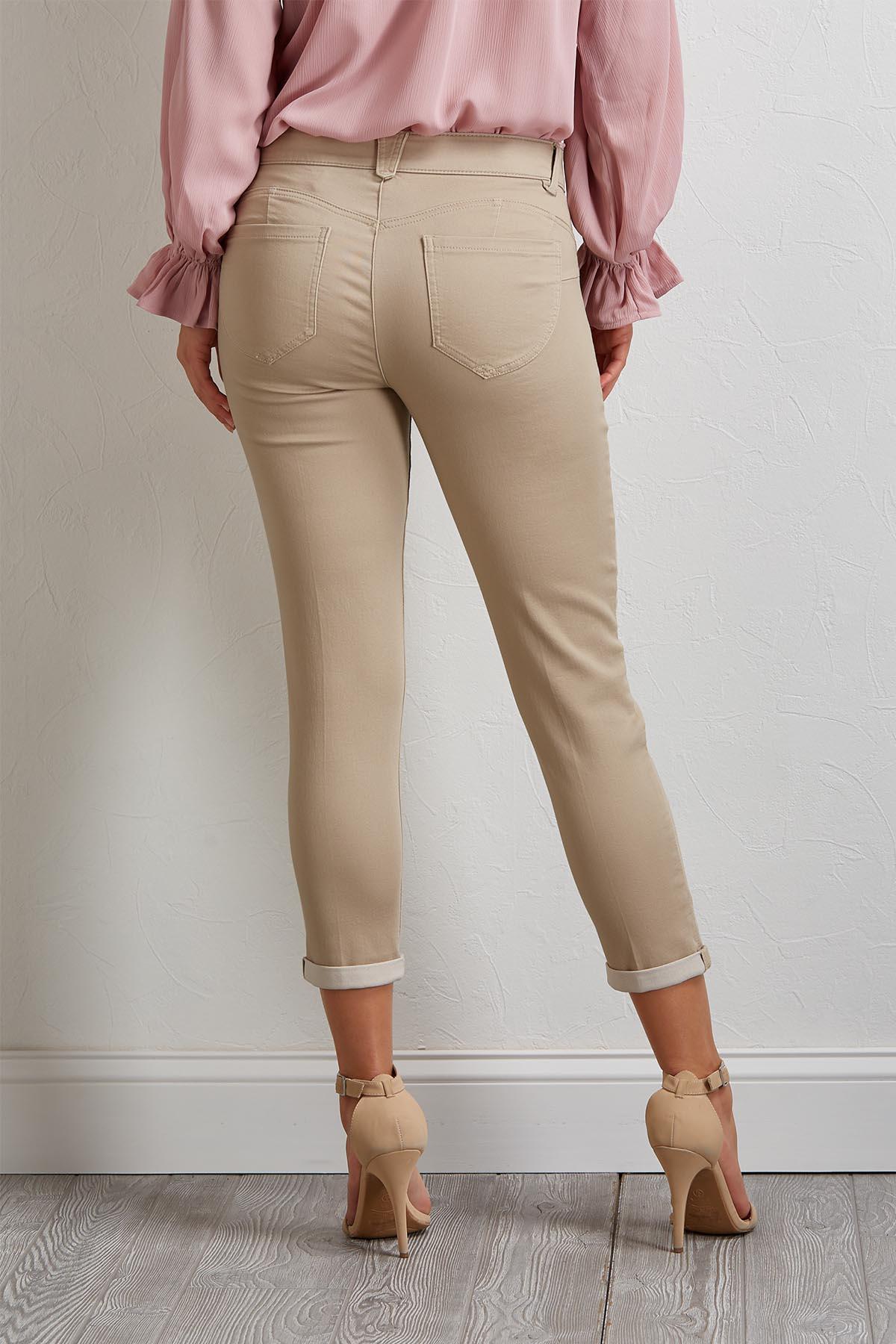 Slimming Skimmer Pants