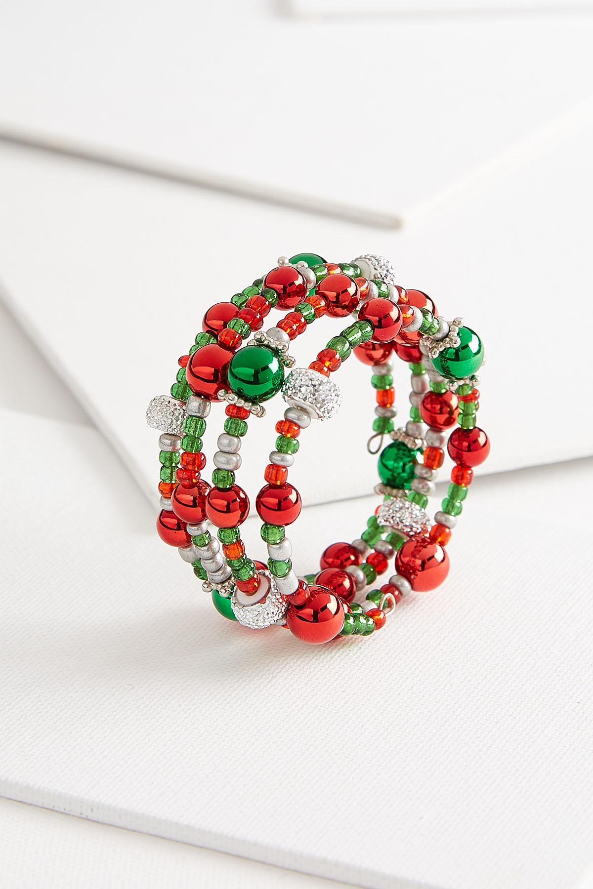Holiday Coil Bracelet