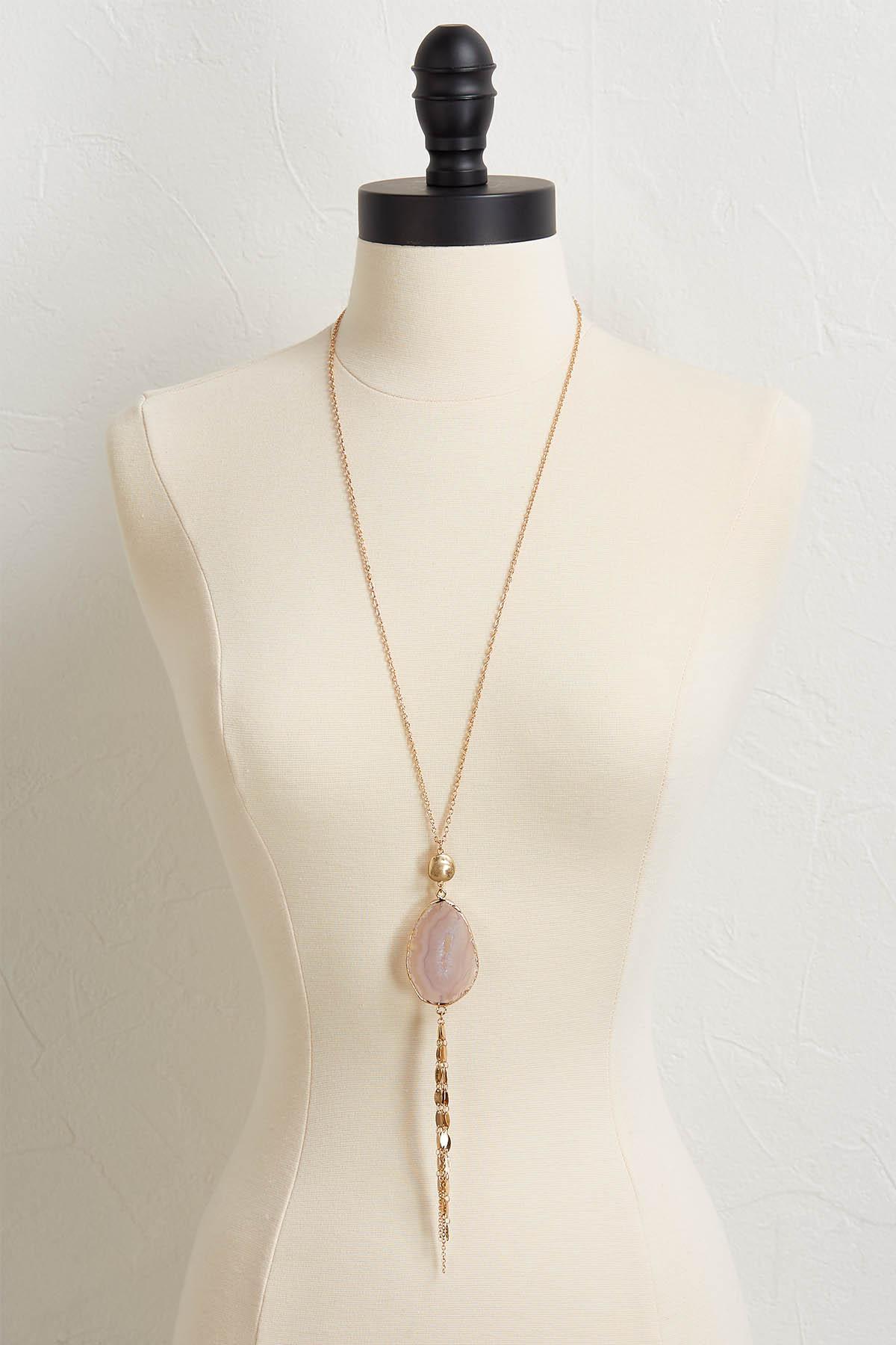 Semi- Precious Mix Chain Necklace