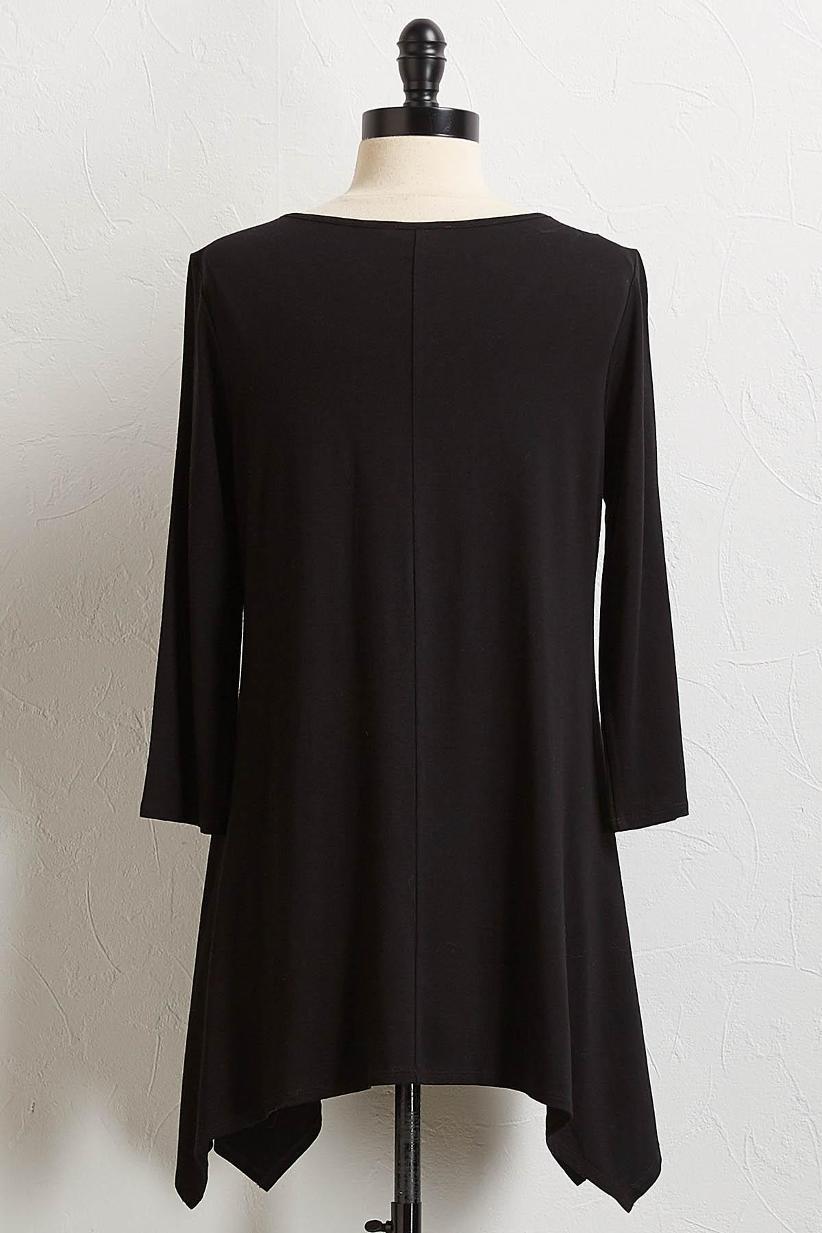 Inverted Front Pleat Tunic