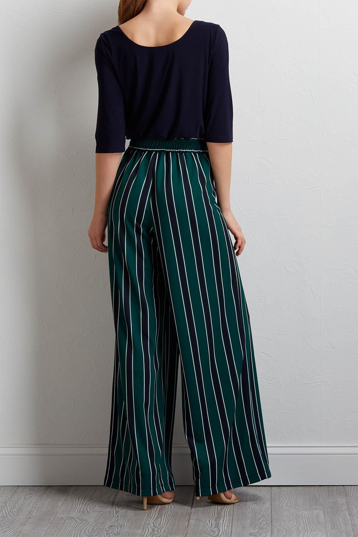 Solids And Stripes Jumpsuit