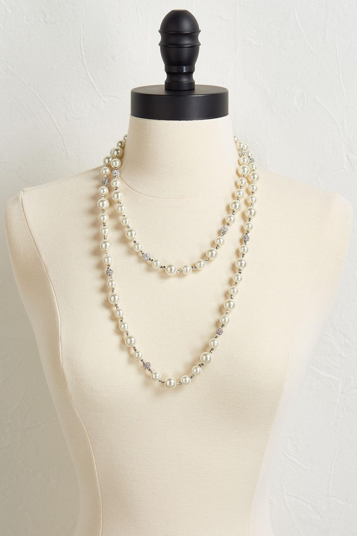 Layered Pearl Necklace
