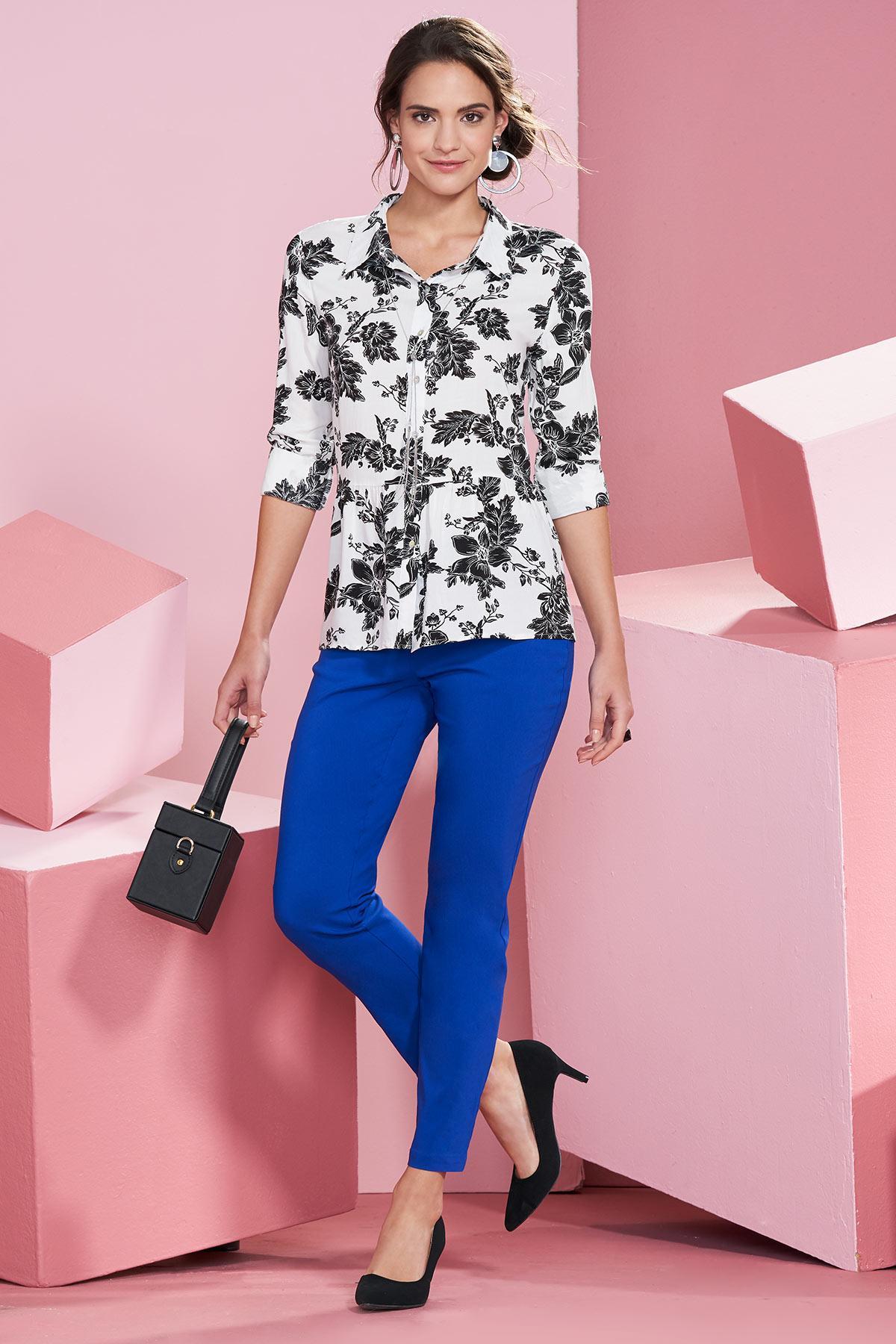 Floral Noir Top