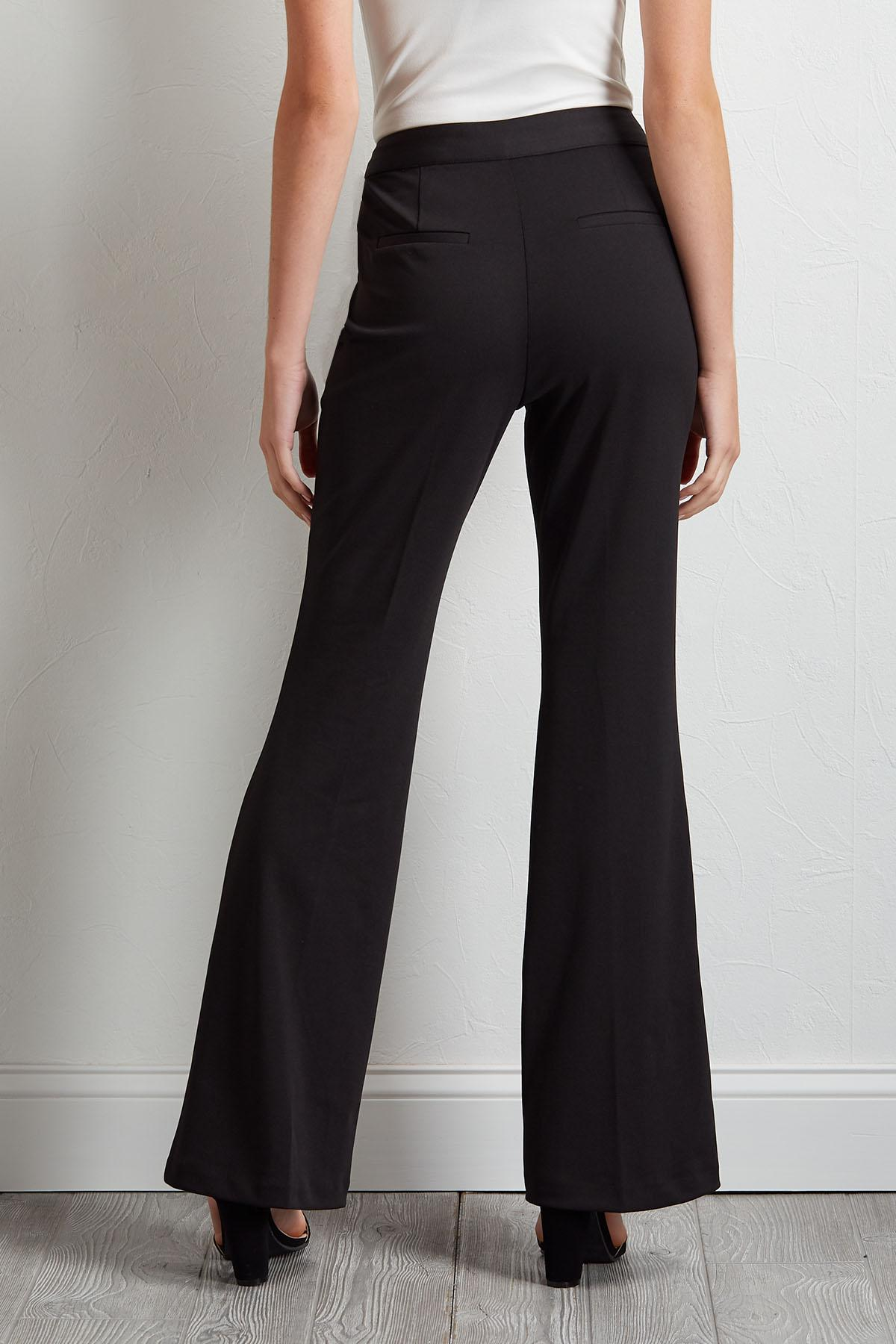 Seamed Front Trouser Pants